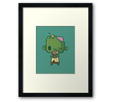Baby Zombie Framed Print