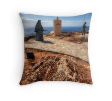 Crete War Memorial Throw Pillow