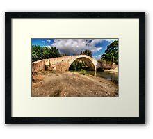 Crete Packhorse Bridge Framed Print