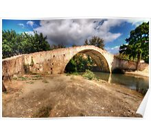 Crete Packhorse Bridge Poster