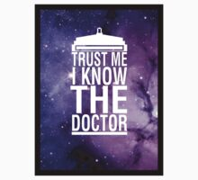 TRUST ME I KNOW THE DOCTOR One Piece - Short Sleeve