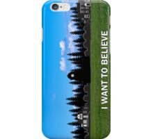 StoryBrooke - I Want To Believe iPhone Case/Skin