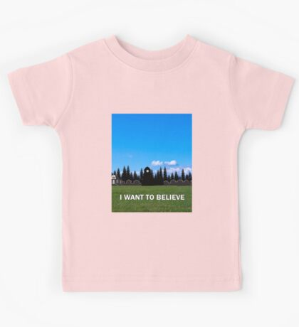 StoryBrooke - I Want To Believe Kids Tee