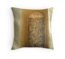 A Place of Worship Throw Pillow