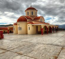 Lassithi Monastery by Stephen Smith