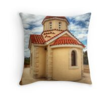 Greek Orthodox Church Throw Pillow