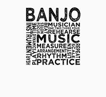 Banjo Typography Unisex T-Shirt