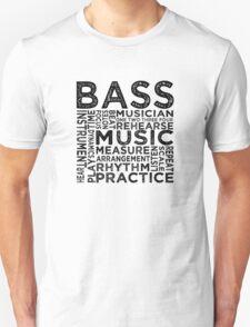 Bass Typography T-Shirt