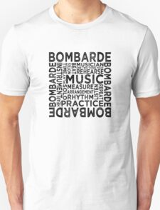 Bombarde Typography T-Shirt