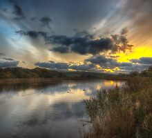 Bembridge Lagoons Nature Reserve by manateevoyager