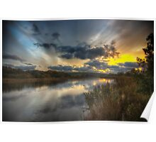 Bembridge Lagoons Nature Reserve Poster