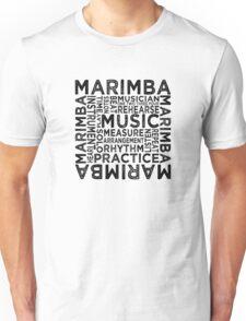Marimba Typography Unisex T-Shirt