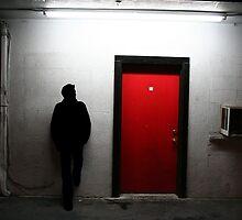 Red Door by Steve Nahaj