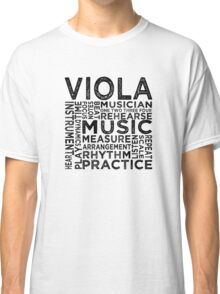 Viola Typography Classic T-Shirt