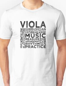 Viola Typography T-Shirt