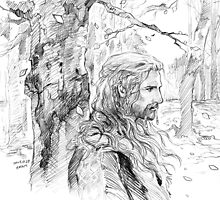 Fili in the Fall by evankart