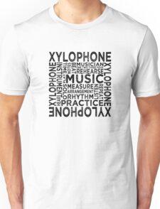 Xylophone Typography Unisex T-Shirt