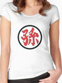 孫 Women's Fitted Scoop T-Shirt