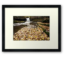 West Burton Waterfall Framed Print