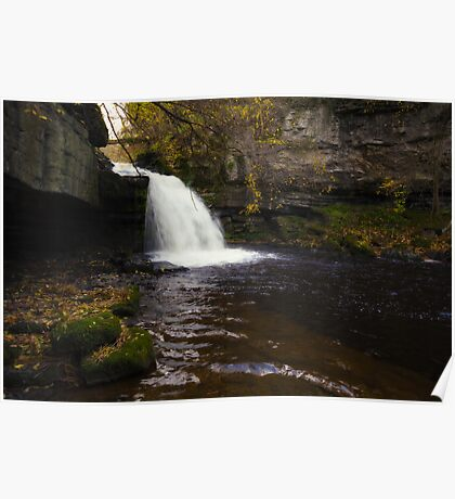 West Burton Waterfall Poster