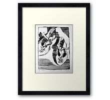 rediscovering true self series #7 My Shoes Framed Print