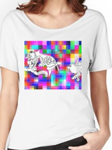 dawn forces--RUN!!!! Women's Relaxed Fit T-Shirt