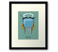 The Robot Framed Print