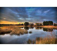 Golden Lagoon Photographic Print