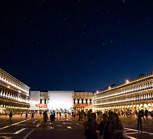 St. Marks Square At Night by Alex Wagner