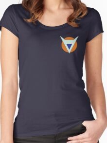 The Ginyu Special Corps Logo Women's Fitted Scoop T-Shirt