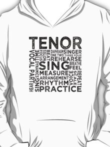 Tenor Typography T-Shirt