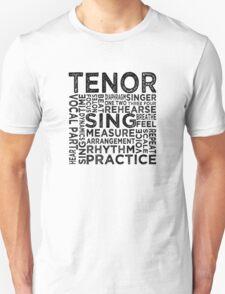 Tenor Typography T-Shirt