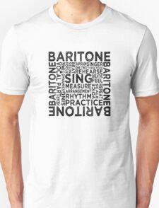 Baritone Typography T-Shirt