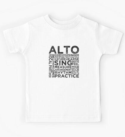 Alto Typography Kids Tee