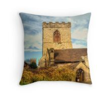 St Marys Church, York Throw Pillow