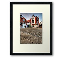Whitby Old Town Framed Print