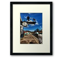 8 Minutes to 12 Framed Print