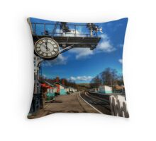 8 Minutes to 12 Throw Pillow