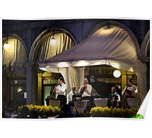 Venician Band St. Marks Square Poster