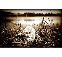 Lone Feather Photographic Print