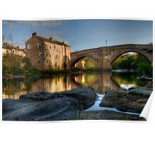 County Bridge, Barnard Castle Poster