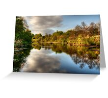 The River Tees Greeting Card