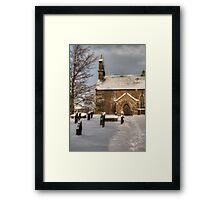 St Giles Church, Bowes Framed Print