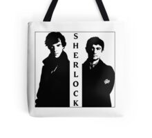 Sherlock & Watson Tote Bag