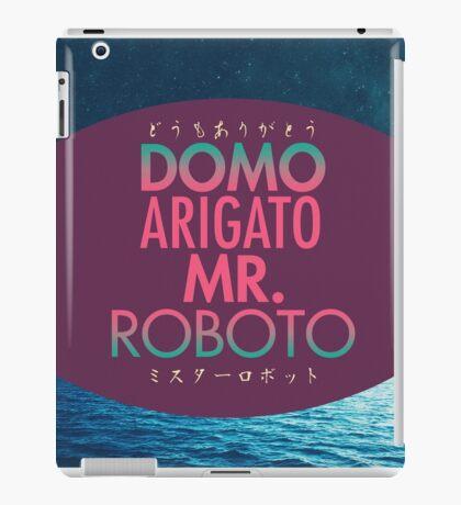 Domo Arigato Mr. Roboto iPad Case/Skin
