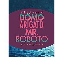 Domo Arigato Mr. Roboto Photographic Print