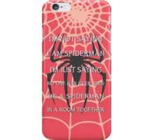 Half Spider - Half Man iPhone Case/Skin