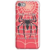 Half Spider - Half Man iPhone Case/Skin