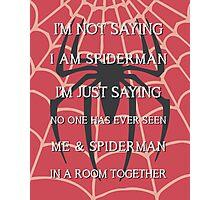 Half Spider - Half Man Photographic Print