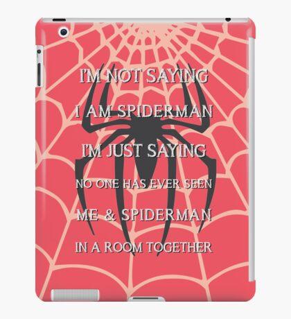 Half Spider - Half Man iPad Case/Skin